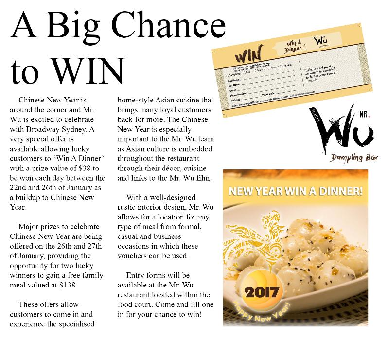 Win Big at Mr. Wu